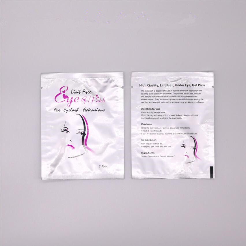 Image 5 - 200pairs/pack New Paper Patches Eyelash Under Eye Pads Lash Eyelash Extension Paper Patches Eye Tips Sticker Wraps Make U-in False Eyelashes from Beauty & Health