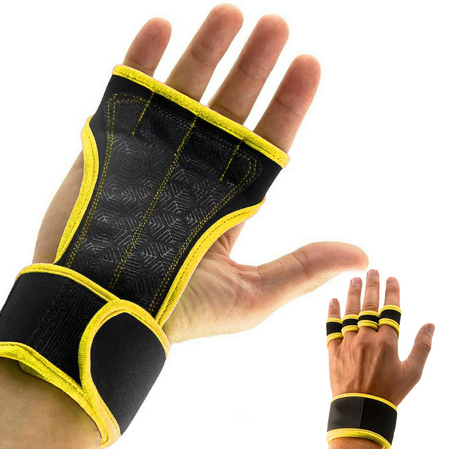 Weight Lifting Gloves Fitness Semi Finger Sports Cross Training Gloves Hand Guards Wristbands Dumbbells Gym Silicone Padding fitness gloves thin spring summer outdoor sports fitness riding army fans fighting semi finger gloves
