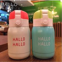 New Korea Popular 304 18/8 Stainless steel vacuum cup belly cup thermos cup Water Bottle Office flask Vacuum mug Top Quality