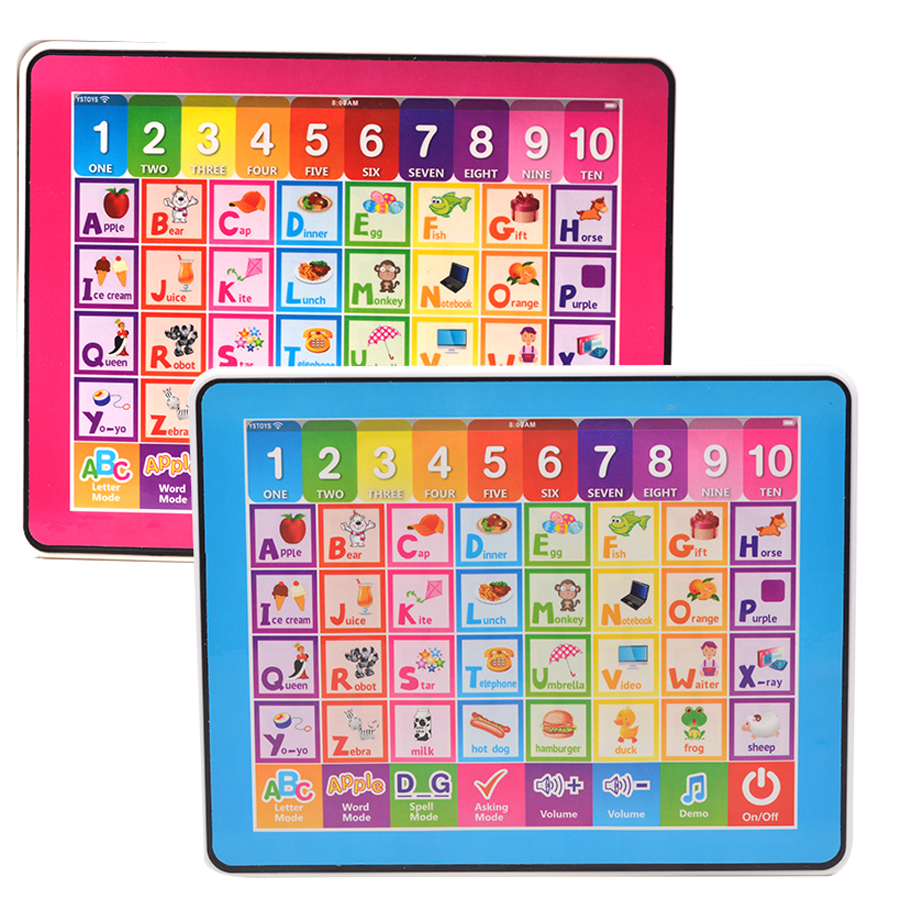 Toys & Hobbies Learning Machines English Language Multifunction Computer Ypad Toy,26 Letters Words Spelling And Quiz,10 Number And Piano Sound For Kid Learn Toy We Take Customers As Our Gods