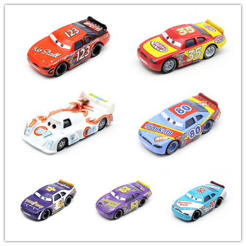 Disney Pixar Cars 3 NO:80 Lightning McQueen Metal Toy Car For Kids Gift 1:55 Brand New & Free Shipping