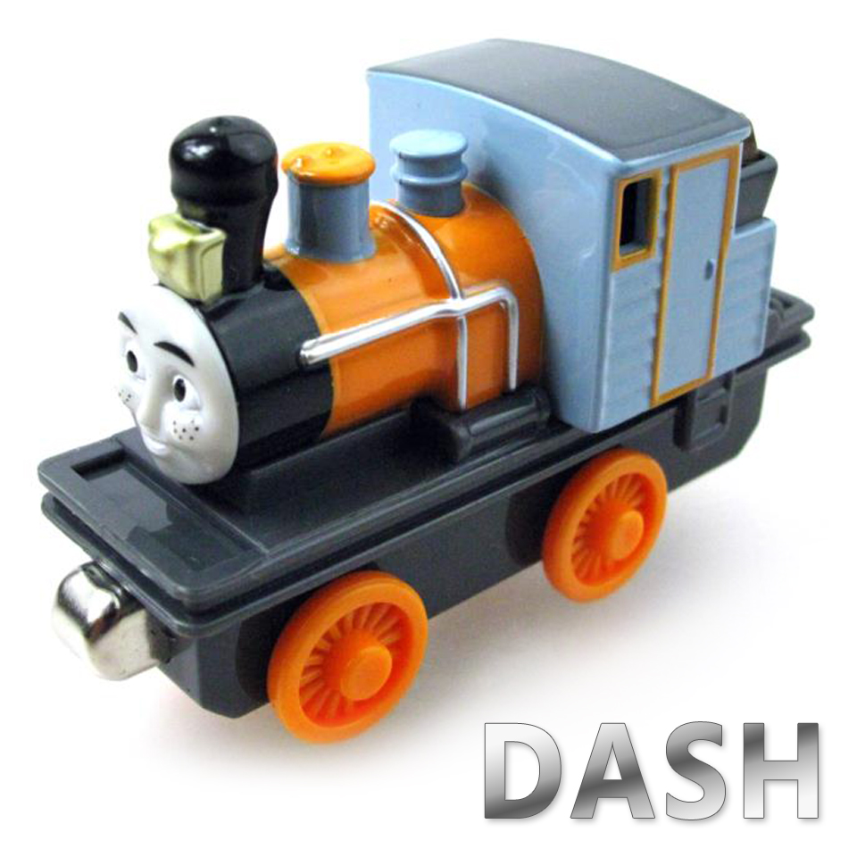 Diecasts Vehicles Thomas T035D DASH Thomas And Friends Magnetic Tomas Truck Car Locomotive Engine Railway Train Toys for Boys