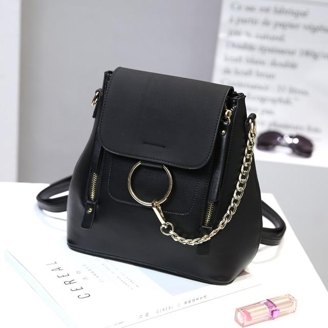 "The new mini backpack woman student bag ""women backpack backpack purse"