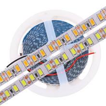 Epistar bande lumineuse led Super brillante 5630, 120 diodes/M, 5M, blanc froid/chaleureux, Flexible, 5730, étanche, ruban d'éclairage pour décoration