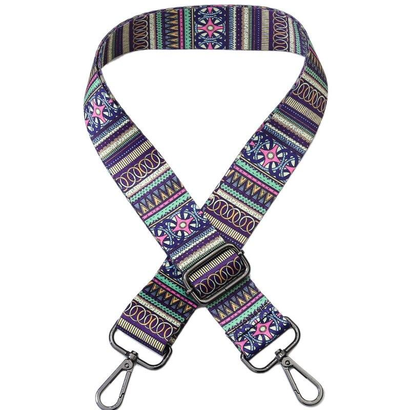 Colored Belt Bag Straps Adjustable Wide Strap Parts for Accessories Obag Handle Handbag Nylon for Women Shoulder Messenger Bags