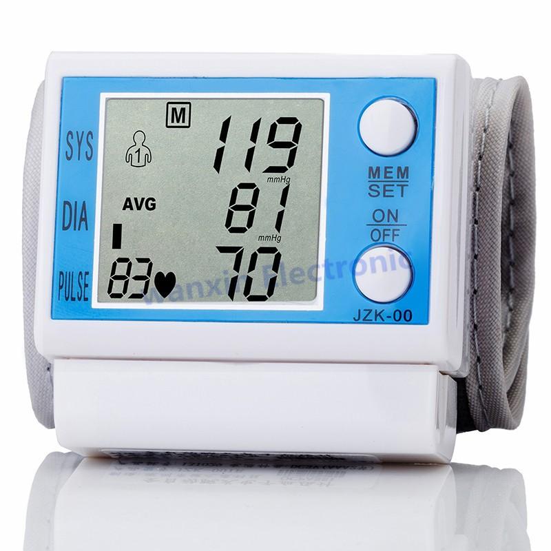 16 New Household Health Monitors Wrist Blood Pressure Monitor Automatic Digital Medical Equipment Health care Sphygmomanometer 3