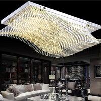 Новый пульт дистанционного Управление светодиодный K9 хрустальные светильники потолочные гладко потолка лампы высокой мощности светодиод