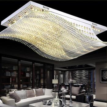 NEUE Fernbedienung LED K9 Kristall Deckenleuchten Glatt Segeln  Deckenleuchten High-power Led-deckenl
