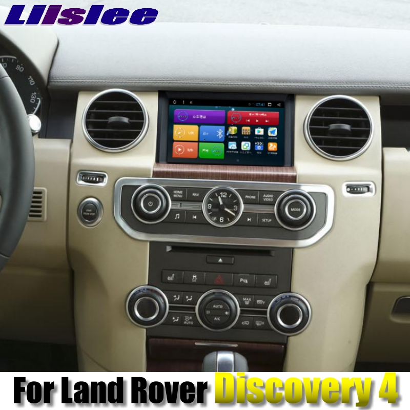 For Land Rover Discovery 4 L319 For Range Rover 2009~2016 NAVI LiisLee Car Multimedia GPS WIFI Audio CarPlay Radio Navigation our discovery island 4 audio cd 3 лцн
