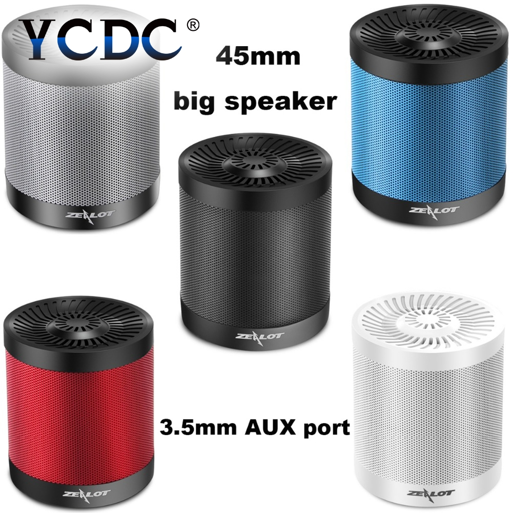 YCDC Original S5 Wireless Speaker Bluetooth 4.0 Support TF Card AUX Flash Disk Outdoor Fishionable Design for Phone/PC/Tablet