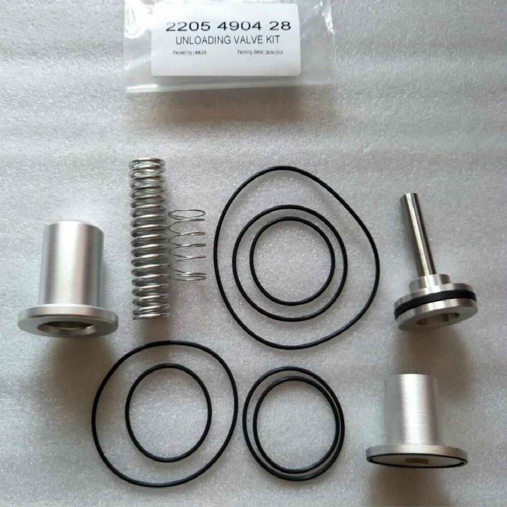 Kit de Service de soupape de déchargeur pièces de rechange pour compresseur d'air Atlas Copco pièce 2205490428 - 2