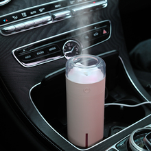 Creative Mini Dashan humidifier USB Fogger LED Night Light Purifier Aromatherapy Essential Oil Diffuser Car air freshener
