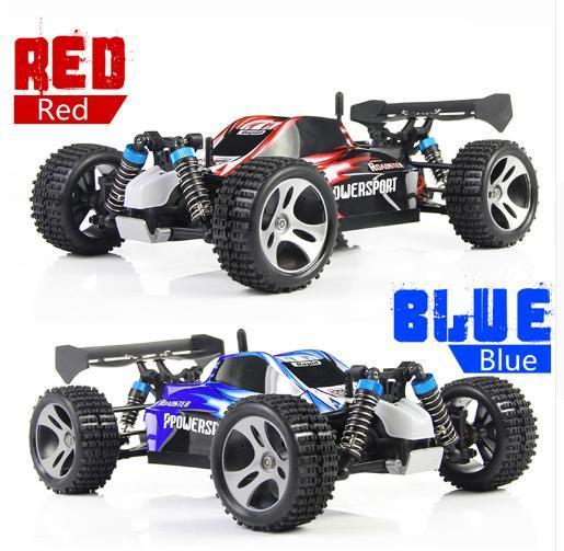 WLtoys A959 RC Car 2.4G 1/18 Scale Remote Control Off-road Racing Car High Speed Stunt SUV Toy present For Boy RC Mini Car