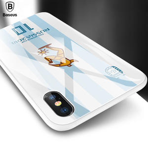 Tempered Glass Case For IPhone X 10 Coque Funda Luxury 3D Soft TPU Back Cover