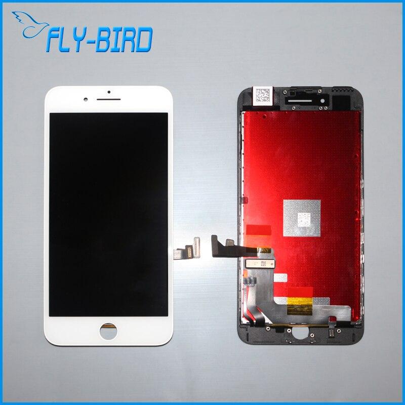 10 unids/lote teléfono móvil lcd pantalla para iphone 7 plus reemplazo de la pan