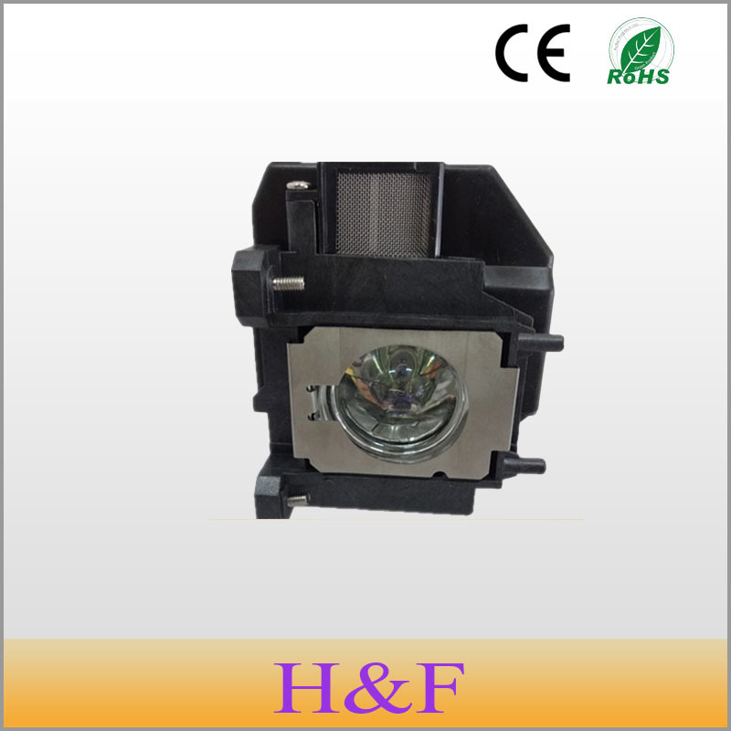 Free Shipping ELPLP67(V13H010L67) Compatible Replacement Projector Lamp With Housing For Epson Proyector Projetor Luz Lambasi free shipping elplp49 v13h010l49 compatible replacement projector lamp with housing for epson eh tw2800 tw2900 tw3000 tw3200