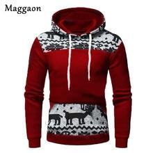 2019 nova outono hoodies de natal dos homens com capuz fino camisolas dos homens casacos masculinos casuais roupas esportivas streetwear marca