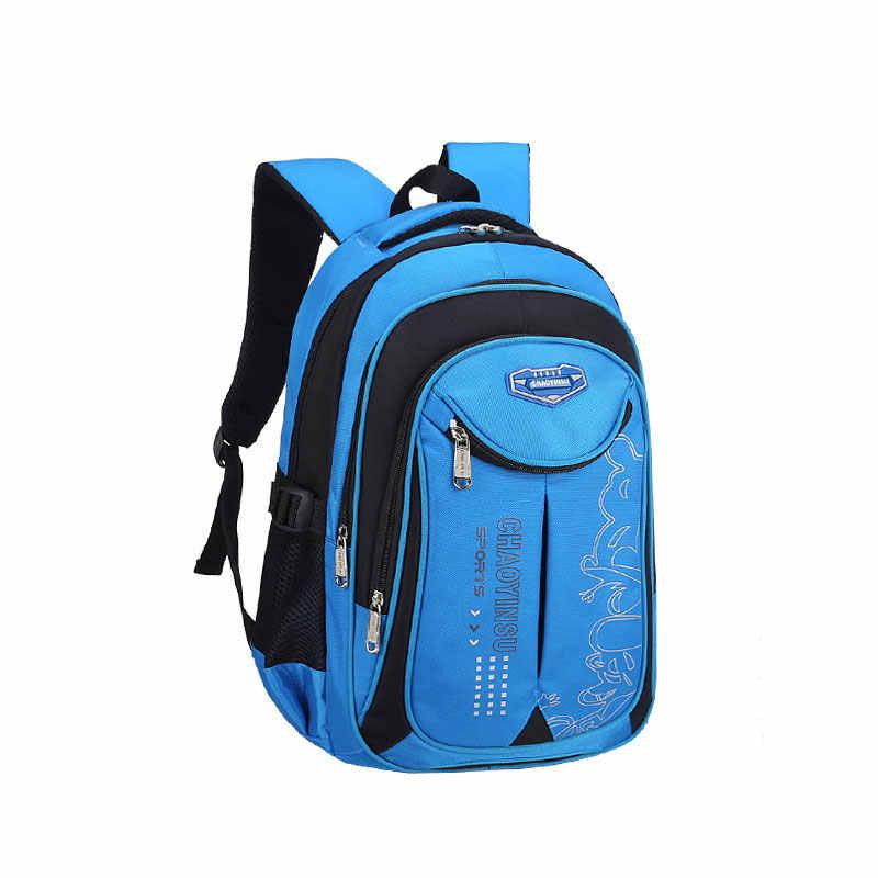 Children School Bags Teenagers Boys Girls Big Capacity Backpack Kids Book Bag