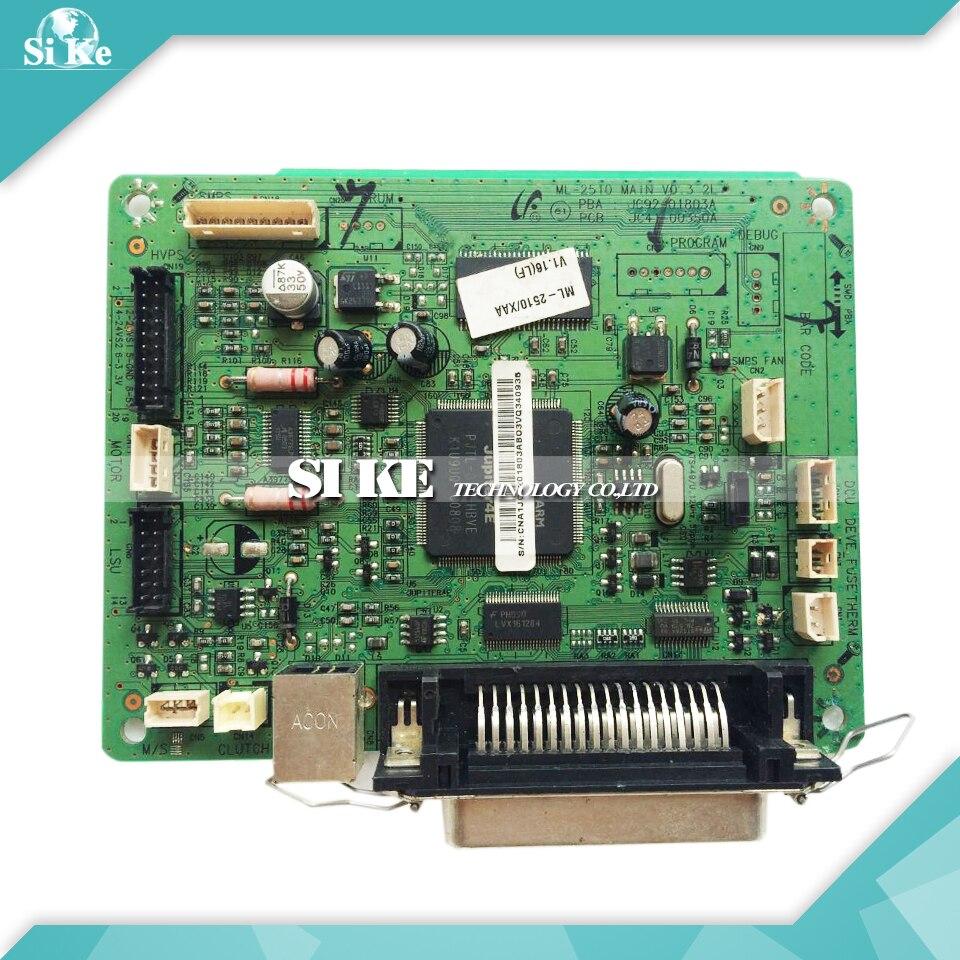Laser Printer Main Board For Samsung ML-2510 ML2510 ML 2510 Formatter Board Mainboard Logic Board laser printer main board for samsung clp 310 clp 320 clp 310 320 clp320 clp310 formatter board mainboard logic board