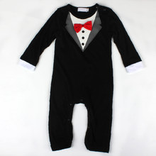 Gentleman Roupas Baby Boy Rompers Spring Long Sleeve Toddler Baby Clothing Infant Jumpsuits Baby Boy Clothes Newborn Romper