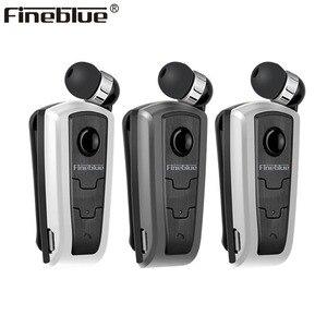 FineBlue F910 Mini bezprzewodowy Auriculares kierowcy zestaw słuchawkowy bluetooth wzywa wibracje przypomnieć noszenia klip słuchawki douszne do biegania