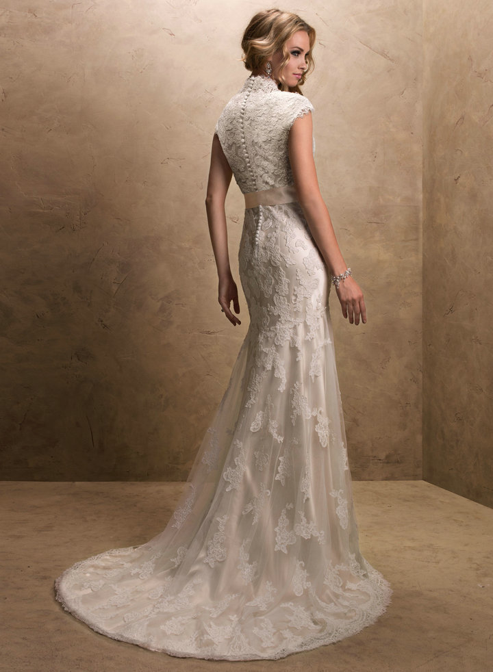 Champagne Colored Lace Wedding Dresses | Wedding Gallery