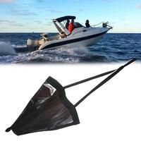 Heavy Duty 44 PVC Sea Anchor Drogue Sail Drifting Brake Sock Parachute Brake Accessories Suit Boat