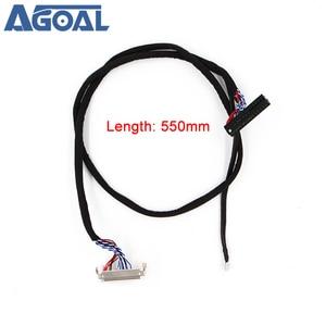 Image 5 - 400mm LVDS 케이블 FIX 30P D8 1ch 8 비트 30 핀 30 핀 단일 8 라인 26 47 인치 대형 스크린 패널 2 모델 무료 배송