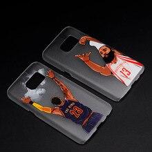 NBA basketball phone case for samsung galaxy s5 s6 s7 edge jordan James Harden LeBron James Stephen Curry cover note 3 4 5