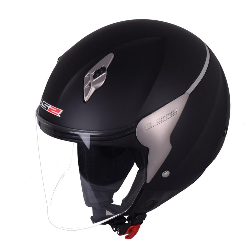 LS2 オートバイヘルメット 3/4 オープンフェイスカスモト Capacetes デ Motociclista スクータージェットヘルメット Casque モト Helm Kask  グループ上の 自動車 &バイク からの ヘルメット の中 3
