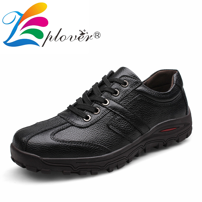 Zplover Big Size High Quality Handmade Genuine Leather Shoes Men Oxford Shoes Casual Fashion Men Flats Soft Leather Men Shoes