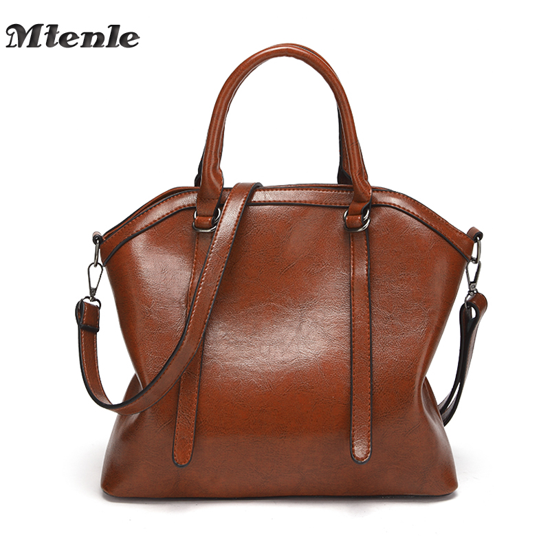 MTENLE Luxury Brand Women Shoulder Bag Female PU Leather Bags Ladies Top-handle Tote Large Bolsos Mujer Women's Handbags  FI famous brand women handbags pu leather bag women tote high quality ladies shoulder bags large capacity ladies top handle bags