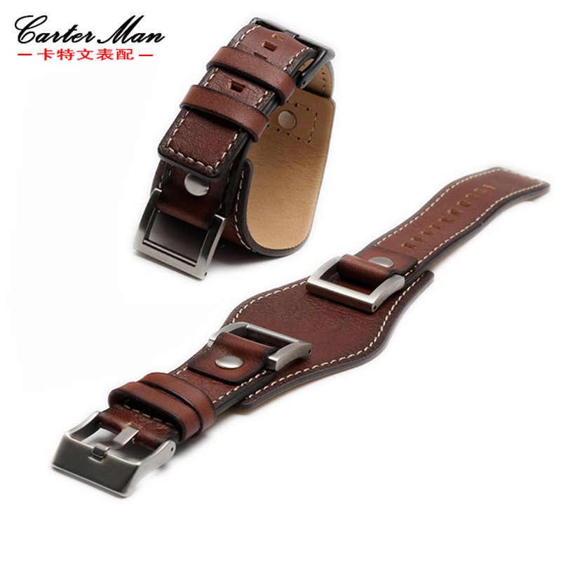 1d960043b79f2 ... Fossil watchband JR1156 JR1157 High quality watchband 24mm men watch  strap cowhide bracelet ...