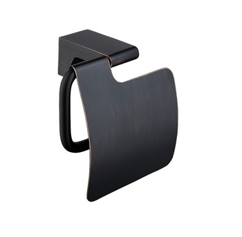 Oil Rubbed Bronze black high quality All Solid Brass Bathroom Toilet Paper Holder Wall Mounted Tissue Bar Holder-3527