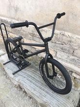 Home V3 diy bmx bikes 20 full crmo full bearings black cheap Street Steel Aluminum Alloy Male