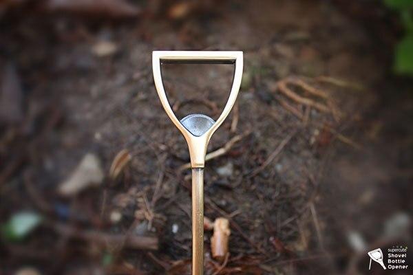 New product innovation, shovel bottle opener, bottle opener.