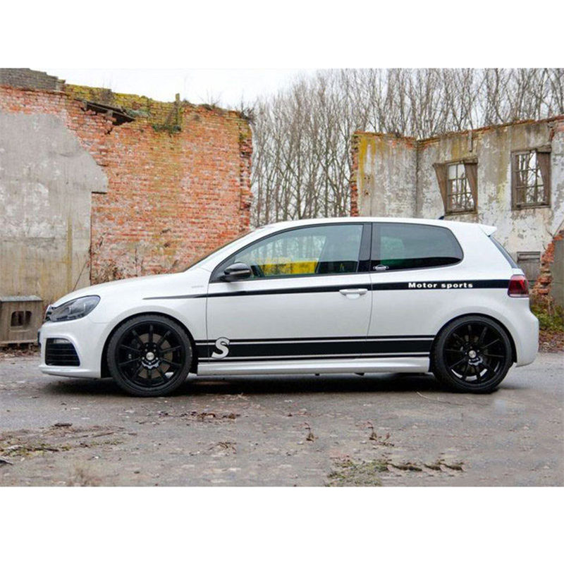 Car-Styling Customized Body Car Sticks Decals Vinyl Film Car Covers For Volkswagen New Polo/Sci