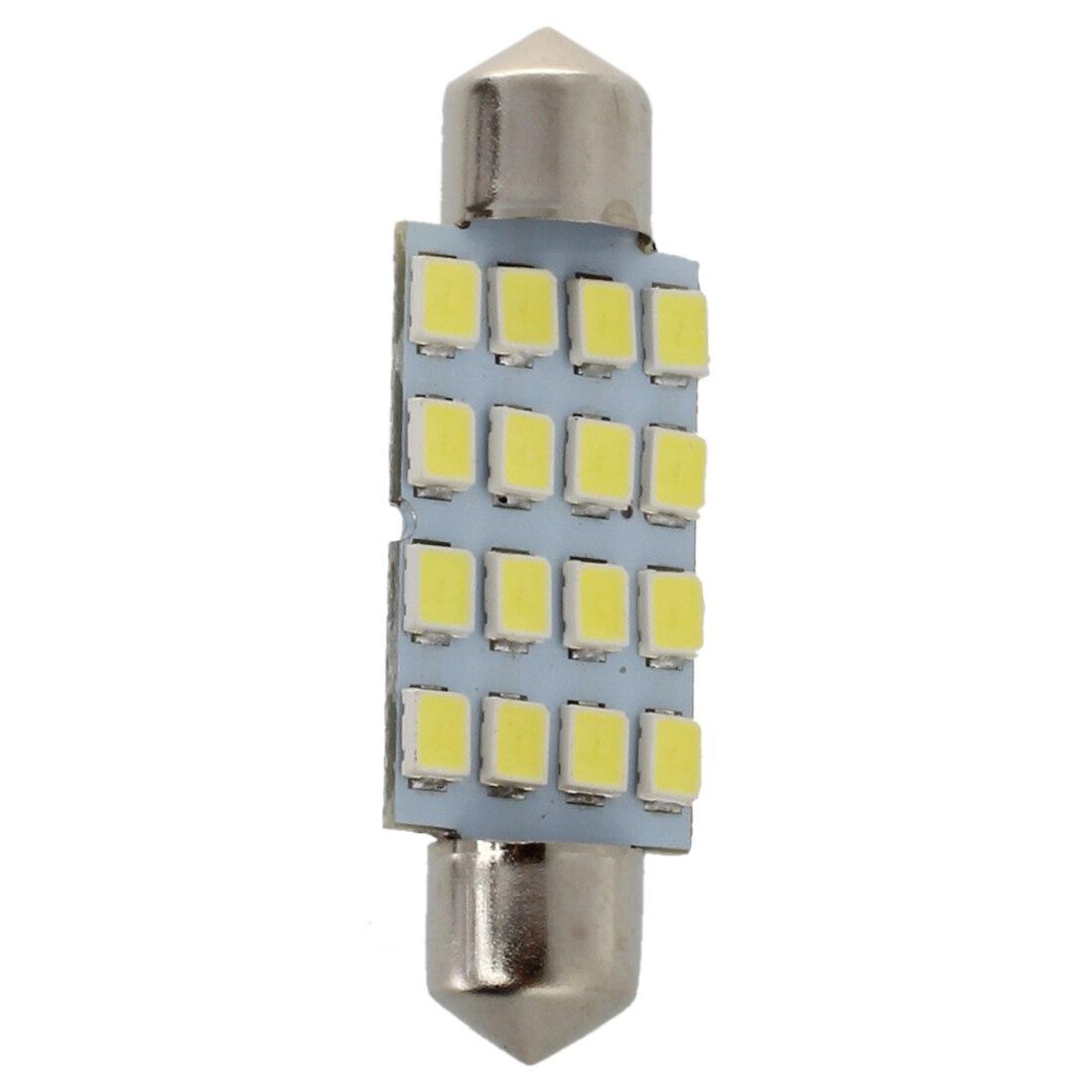 10×42 мм 16 светодиодных салона белый SMD 3528 потолочный плафон лампы 211-2 578 212 -2