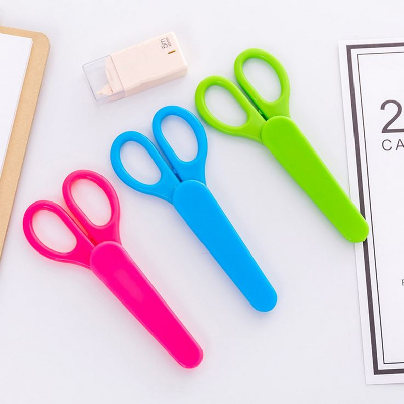 Cutting Supplies Peerless 1 Pcs Handmade Diy Photo Album Laciness Plastic Mini Scissors Children Safety Scissors Tesoura Paper Lace Diary Decor Latest Fashion Office & School Supplies