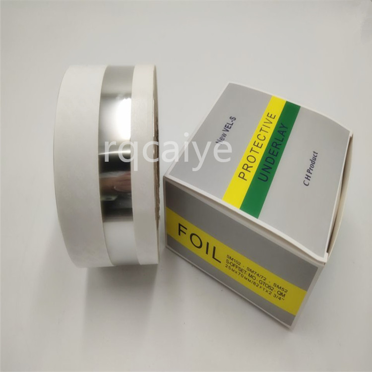1 PCS China post free shipping  SM102 SM74 MO Fountain motor protective underlay foil length 25m 00.472.0006-in Printer Parts from Computer & Office