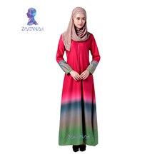 034 2016 High quality islamic clothing for women turkish women clothing fashion muslim dresses cotton abaya