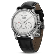 Leisure Automatic Mechanical Genuine Leather Waterproof Watch with Rome Digital Business for Various Occasions 819.315