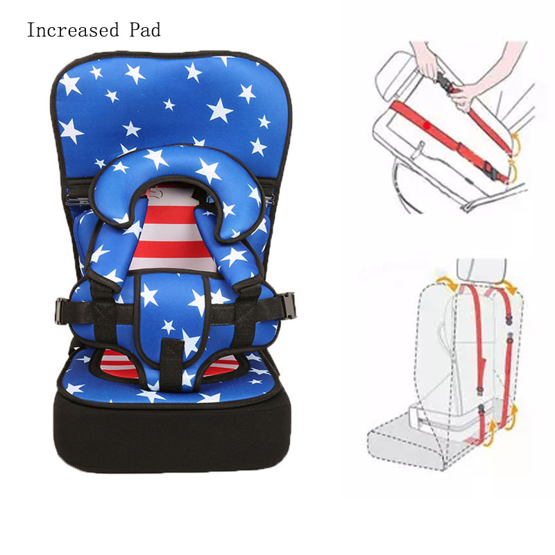 Portable Baby Seat Children Dining Cushion Adjustable Baby Chair Increased Pad Thickening Sponge Kids Toddler Booster Seats