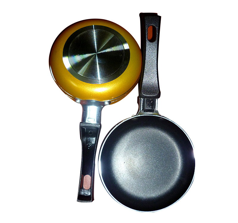 Thickening Medical Stone Non-stick Frying Pan 12 Cm Multi-purpose Pancake Steak Pan No Fumes Use For Gas Induction Cooker