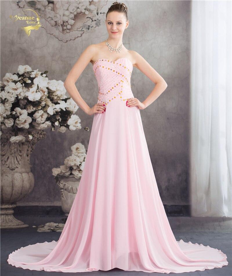 Вечерние элегантные вечерние платья 2019 JEANNE Love Maxi женское шифоновое вечернее платье Robe De Soiree вечерние платья для выпускного вечера OL5215