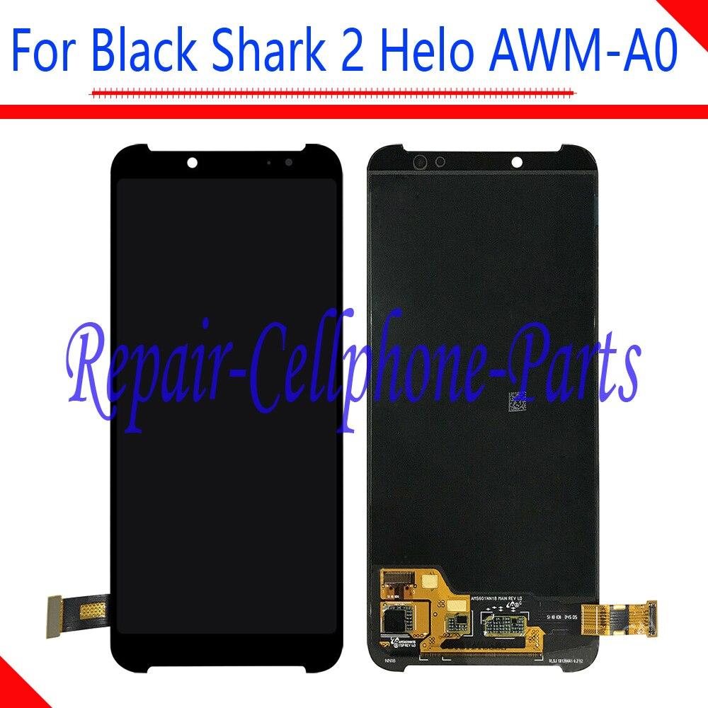 6.01 pouces nouveau plein écran LCD + écran tactile numériseur assemblée pour Xiaomi noir requin 2 Helo AWM-A0 numéro de suivi