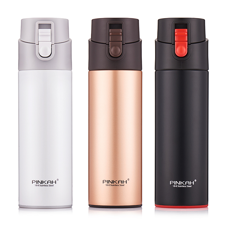 Vacuum Cup 530ml Coffee Mug Thermos Thermal Tea Cups Insulated Flask Bottle for Water Metal bottle Vacuum Flasks Car Use