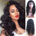 Full Lace Human Hair Wigs For Black Women Peruvian Virgin Hair Wig Loose Wave Lace Front Human Hair Wigs Glueless Full Lace Wig