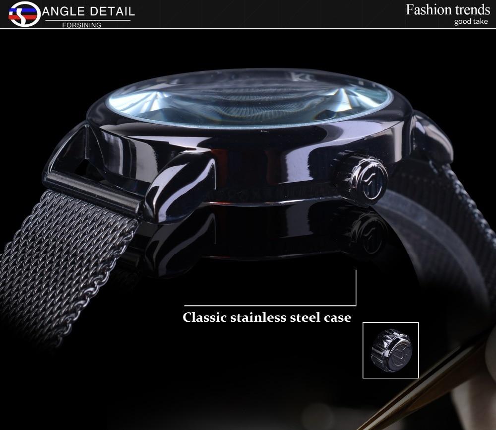 HTB1JvLUiL5TBuNjSspcq6znGFXaI Forsining Retro Fashion Design Skeleton Sport Mechanical Watch Luminous Hands Transparent Mesh Bracelet For Men Top Brand Luxury