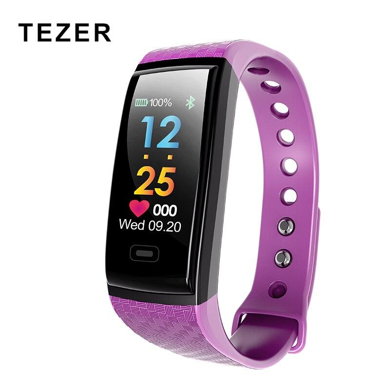 Nova chegada pulseira de fitness inteligente, inteligente da frequência cardíaca monitor de pressão arterial Atividade Rastreador pulseira para Tezer R17